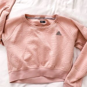 Cropped adidas sweater